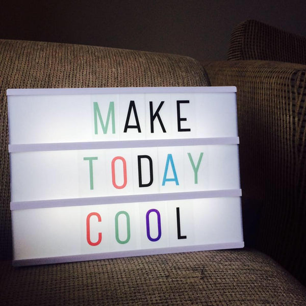 Lightbox design ideas Make Today Cool at Little Citizens Boutique