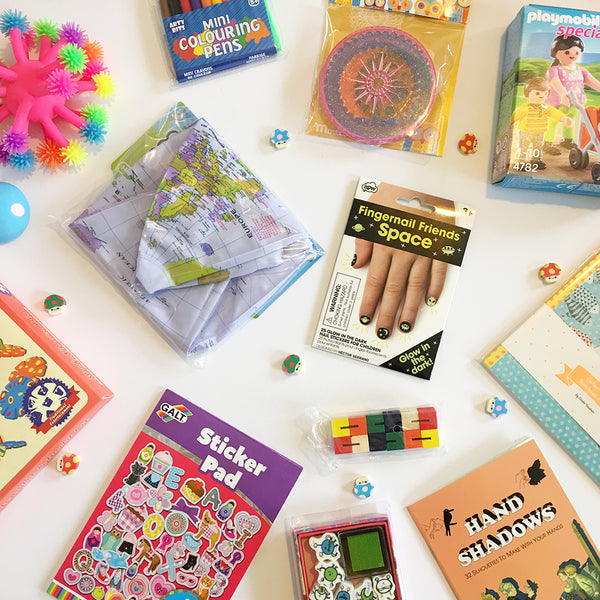 best travel goodie bags for kids