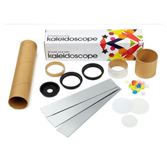 Build your own kaleidoscope with colourful buttons and beads
