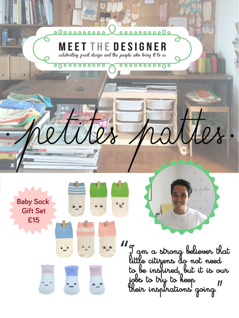 Petites Pattes MEET the DESIGNER exclusive interview with Win Saikayasit