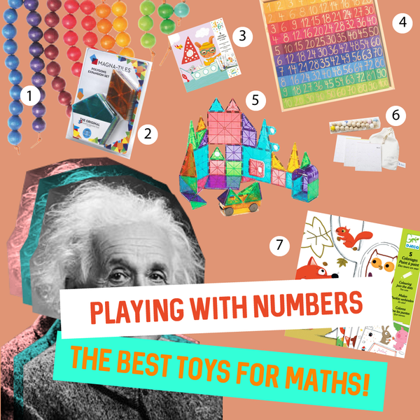 Playing with Numbers the best toys for learning maths
