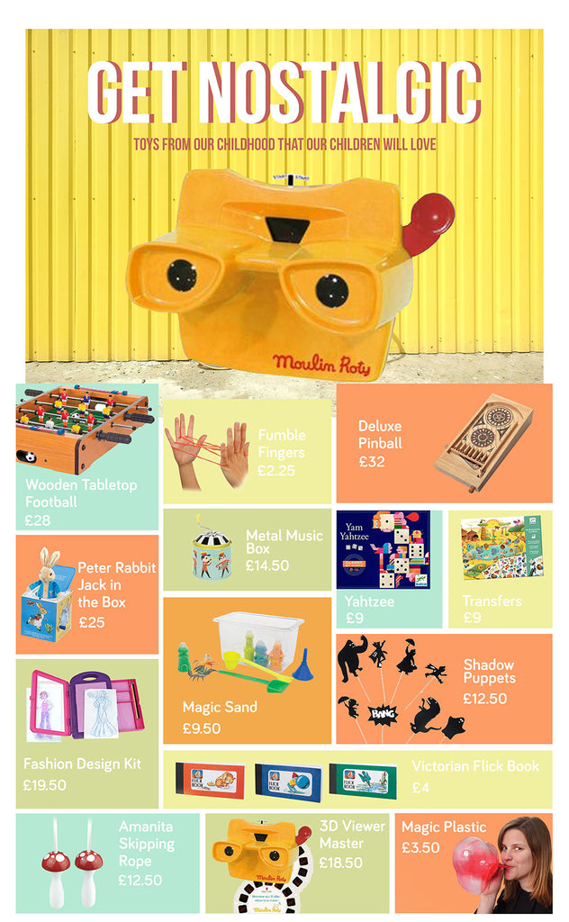 Retro toys we all loved that we can pass on to our kids