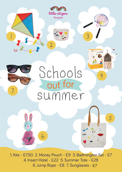 School's Our for Summer and we have a super duper outdoor and imaginary play collection of toys