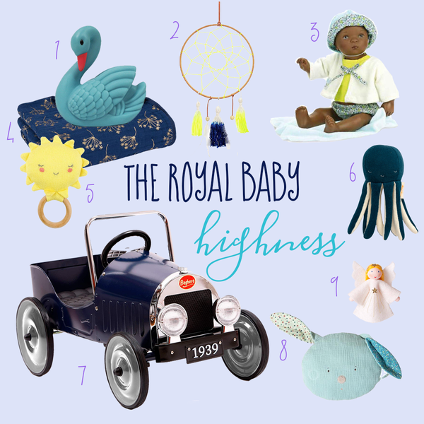 Royal Baby Gift Buying Guide