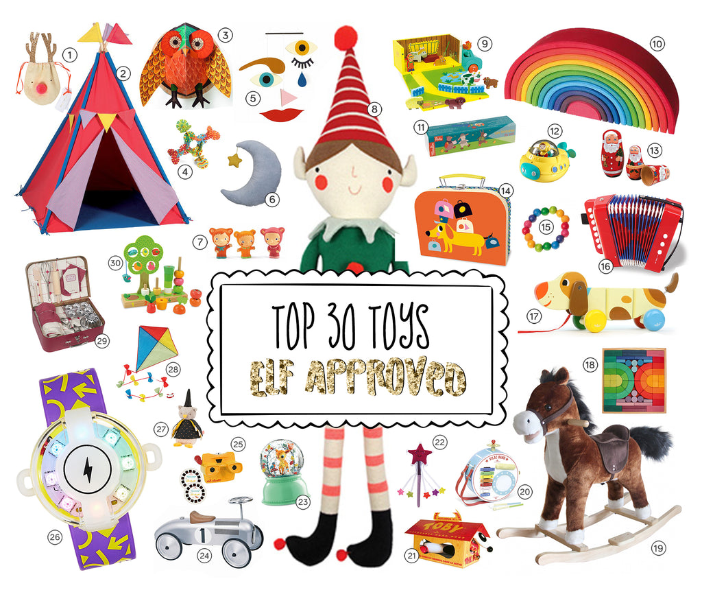 Best Christmas Toys 2017 >> Top 30 Christmas Toys For 2017 Elf Approved Little Citizens Boutique