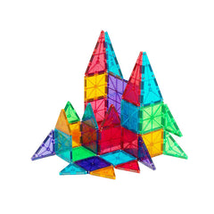 Magna Tiles 32 Piece CLEAR Colours