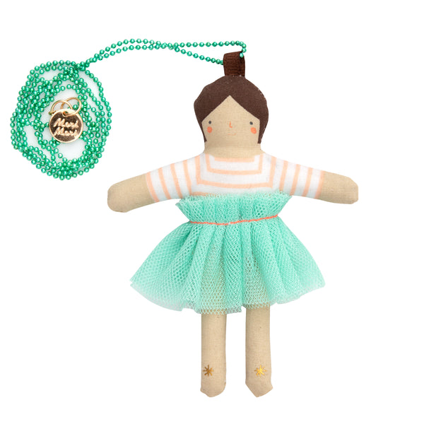 Lila Doll Necklace by Meri Meri