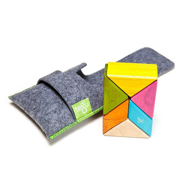 Tegu 6 Piece Pocket Pouch Prism - Tegu Tints