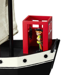Pippi Longstocking Pirate Ship - Hoppetossa with Figurines Included - Little Citizens Boutique  - 5