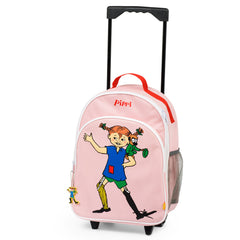 Pink Pippi Longstocking Trolley Bag - Little Citizens Boutique  - 1
