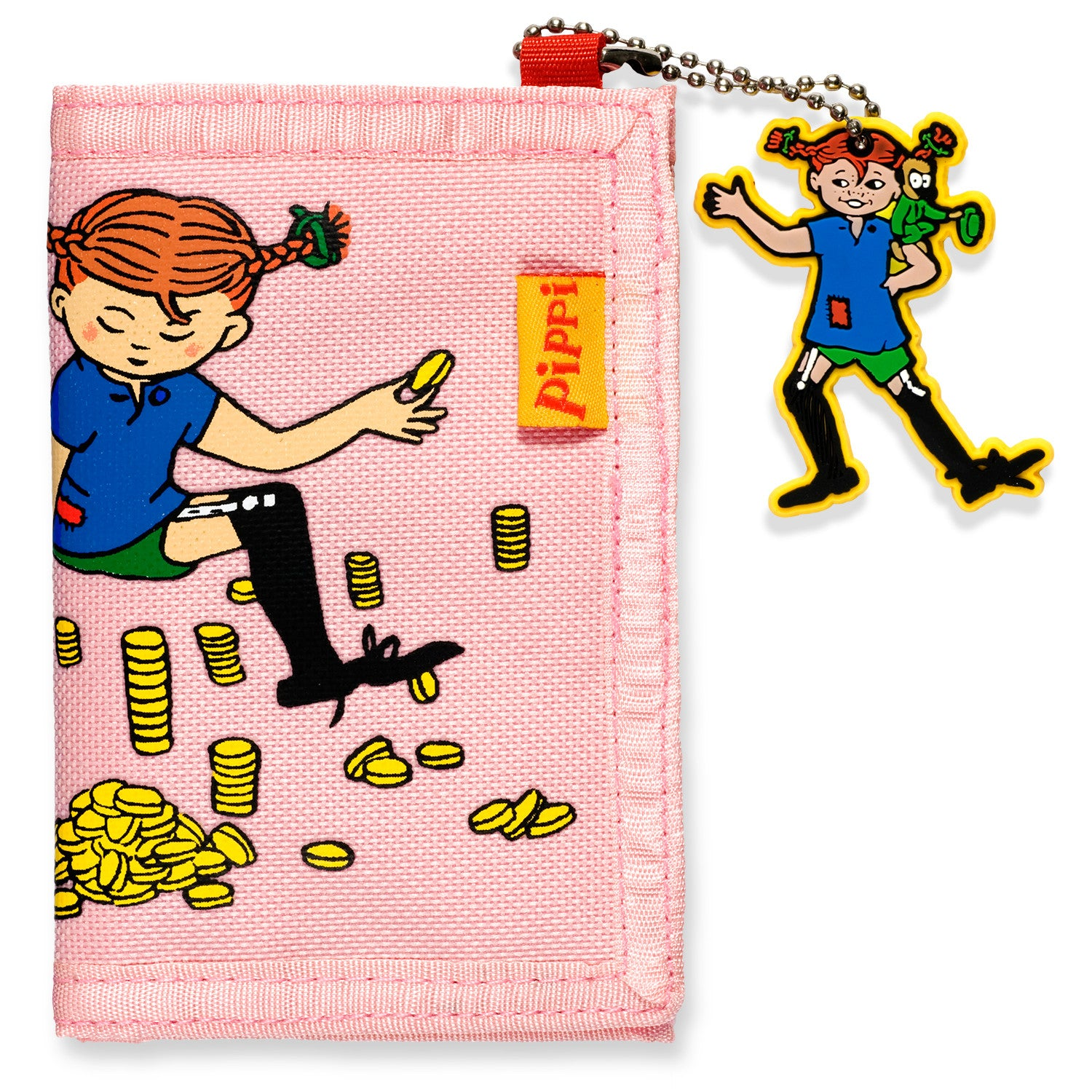Pink Pippi Longstocking Wallet by Micki Lundby - Little Citizens Boutique  - 1
