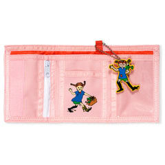 Pink Pippi Longstocking Wallet by Micki Lundby - Little Citizens Boutique  - 3