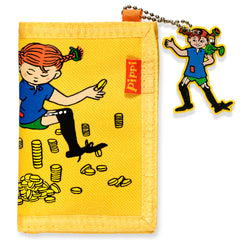 Yellow Pippi Longstocking Wallet - Little Citizens Boutique  - 1