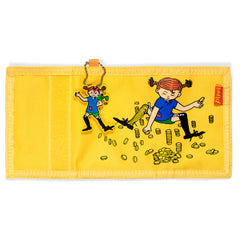 Yellow Pippi Longstocking Wallet - Little Citizens Boutique  - 2
