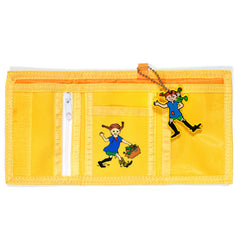 Yellow Pippi Longstocking Wallet - Little Citizens Boutique  - 3