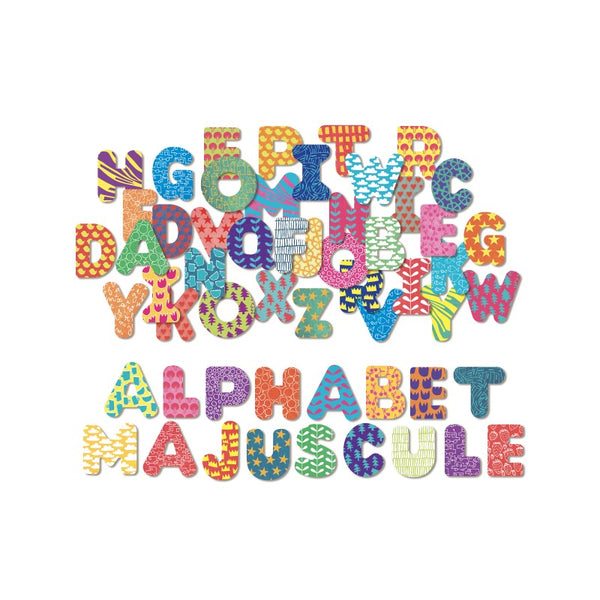 Magnetic Wooden Alphabet Letters