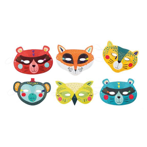 Animal Masks for Dress Up - Les Broc 'n Rolls