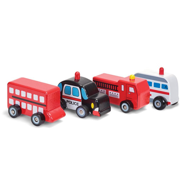 Wooden Fire Engine by Tobar