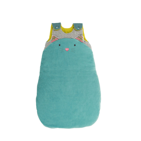 Les Pachats Sleeping bag in blue