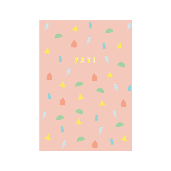 'YAY!' Greetings Card from Little Citizens Boutique