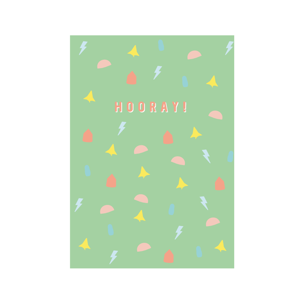 'HOORAY!' Greetings Card from Little Citizens Boutique