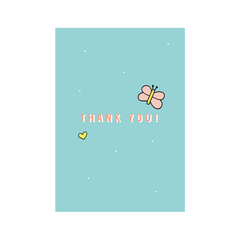 Thank You! Greetings Card from Little Citizens Boutique