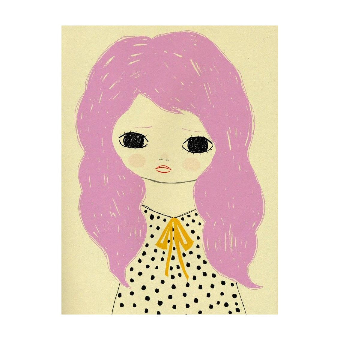 Lily Poster by Ashley Goldberg - Little Citizens Boutique