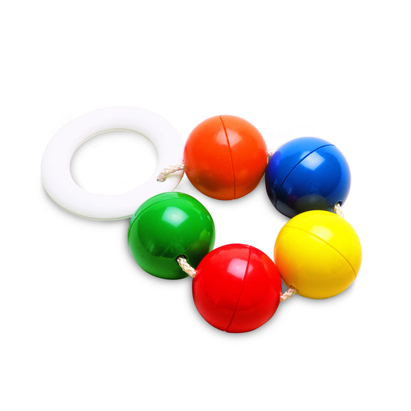 Rattle Balls and Teether Ring by Ambi