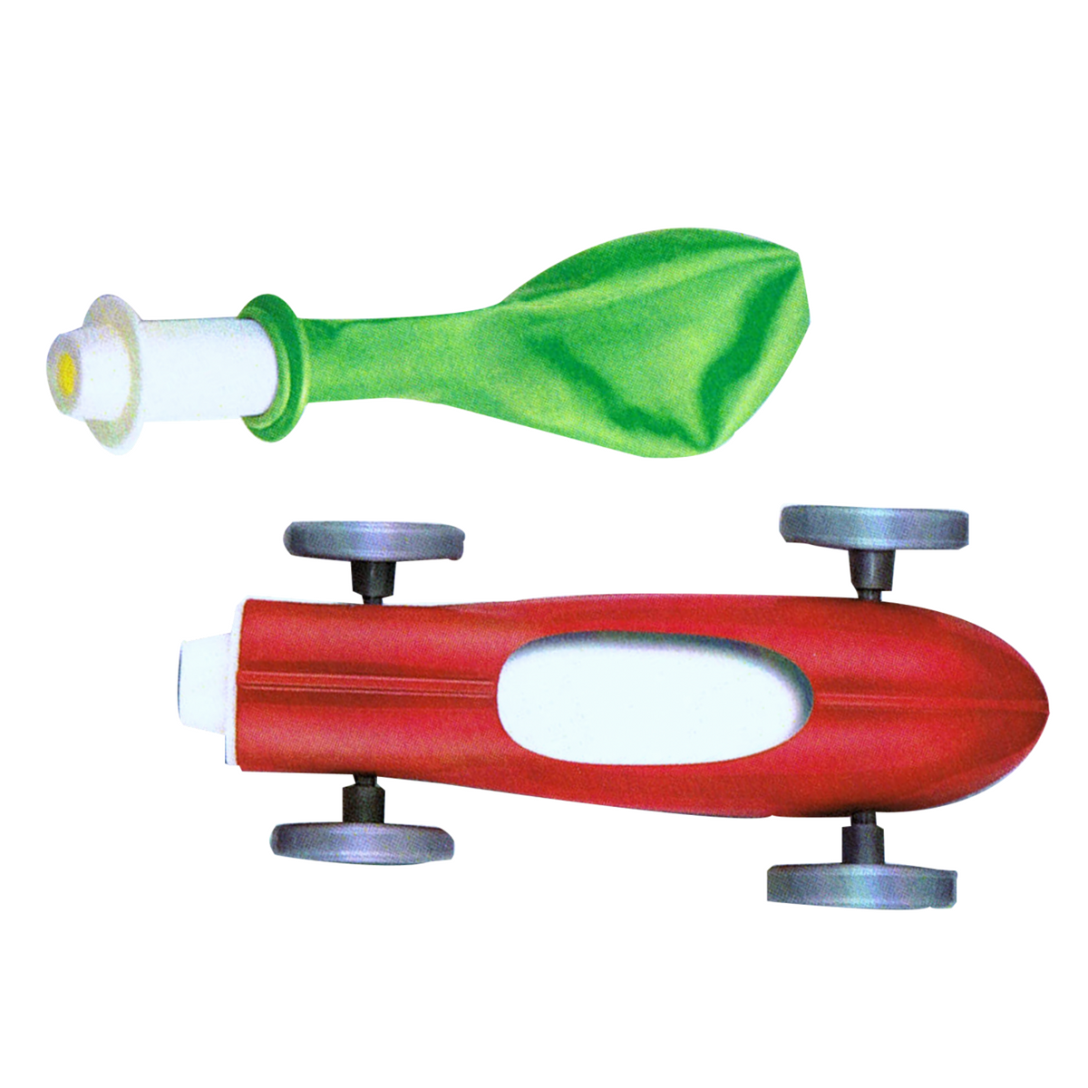 Balloon Powered Cosmic Jet Racer by 4M Kidz Labs - Little Citizens Boutique  - 1