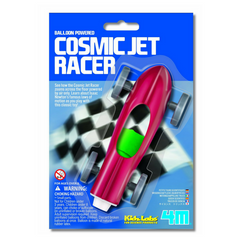 Balloon Powered Cosmic Jet Racer by 4M Kidz Labs - Little Citizens Boutique  - 2