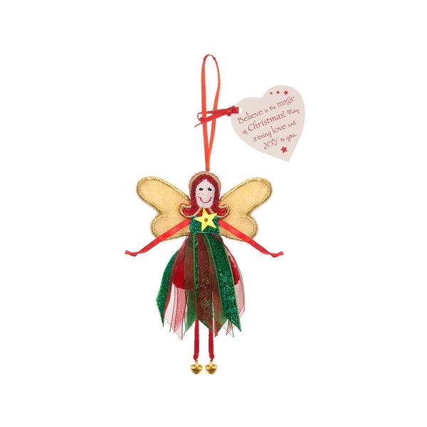 Believe in the Magic of Christmas…Glitter Quote Fairy By Believe You Can