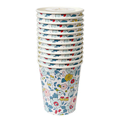 Betsy Liberty Print Party Paper Cups by Meri Meri - Little Citizens Boutique  - 2
