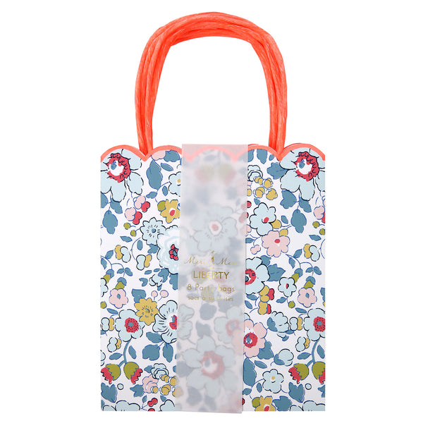 Betsy Liberty Print Party Bags - Pack of Eight