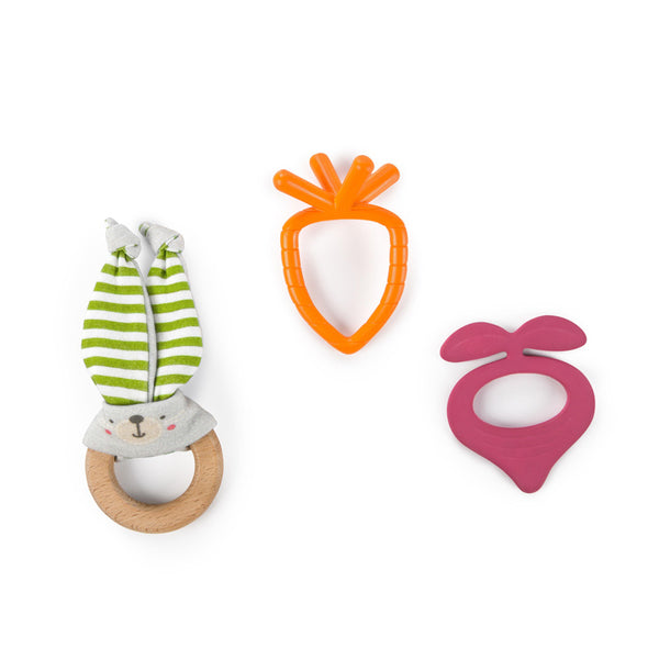Bunny Bites Teething Set by Bright Starts