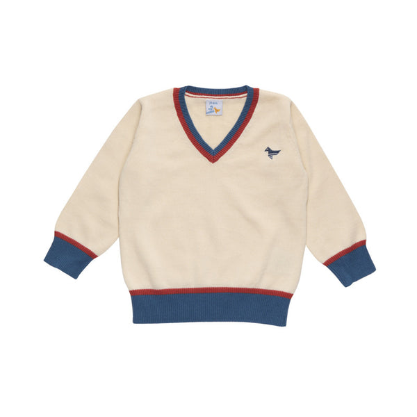 Cluba V Collar Knitwear - 4 years