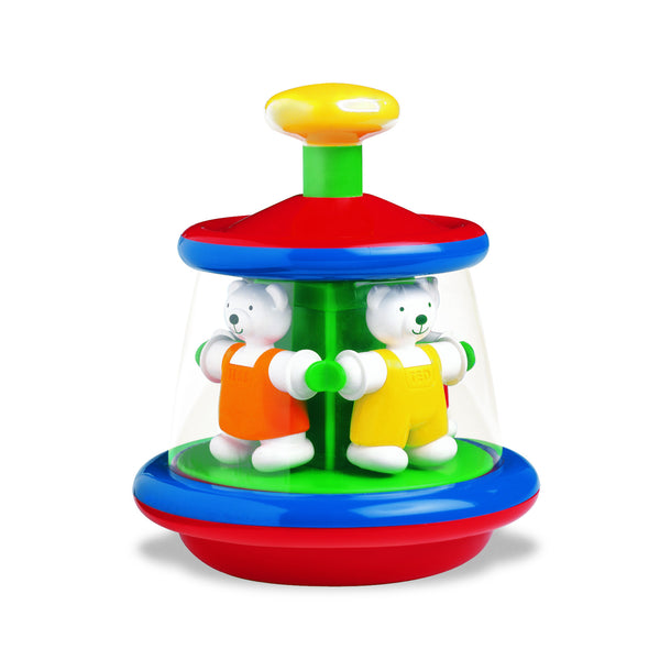 Ted and Tess Spinning Carousel Toy by Ambi