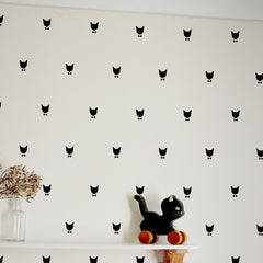 Cha Cha Wall Stickers by Tad Lapin - Little Citizens Boutique  - 1