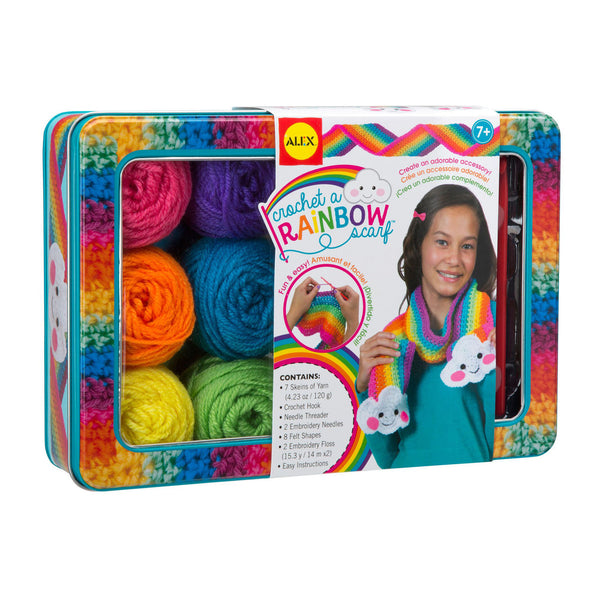Crochet a Rainbow by Alex Toys