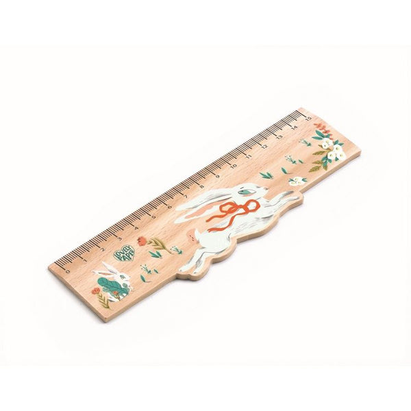 Lucille Wooden Ruler by Djeco