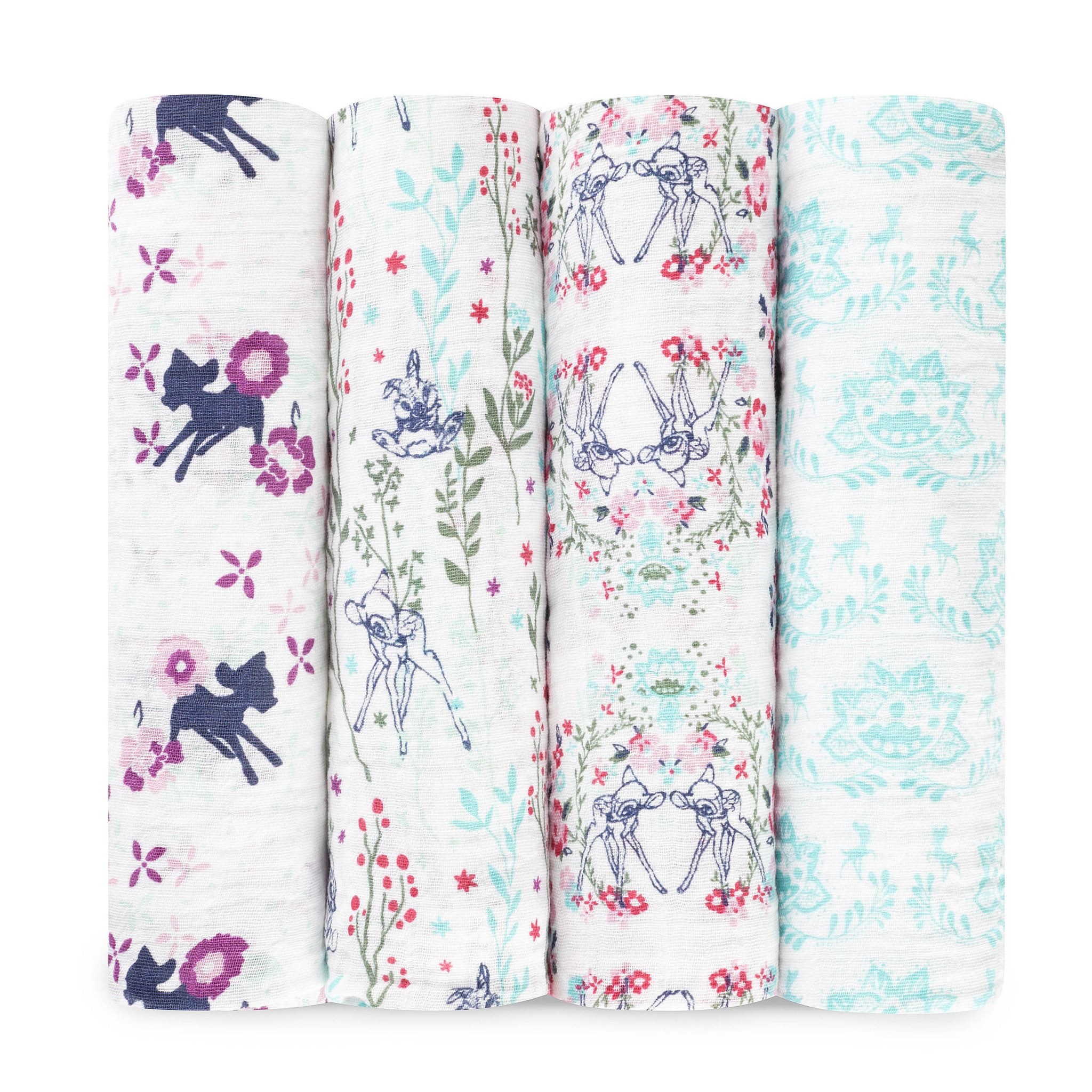 Bambi 4-Pack Disney Baby Swaddles - Aden & Anais - Little Citizens Boutique  - 1