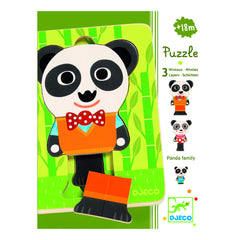 Stackable Panda Puzzle - Little Citizens Boutique  - 2