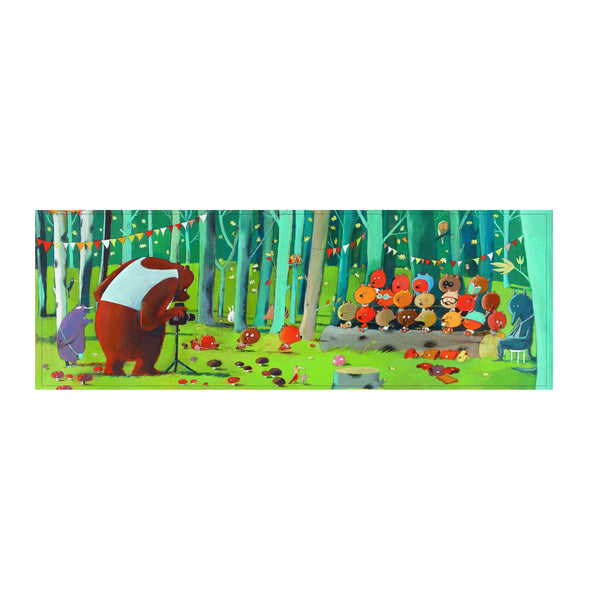 Djeco Puzzle Gallery - Forest Friends - 100 pcs