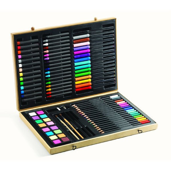 Big Box Of Art Supplies by Djeco