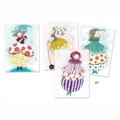 Foil Pictures Art Kit by Djeco - Little Citizens Boutique  - 2