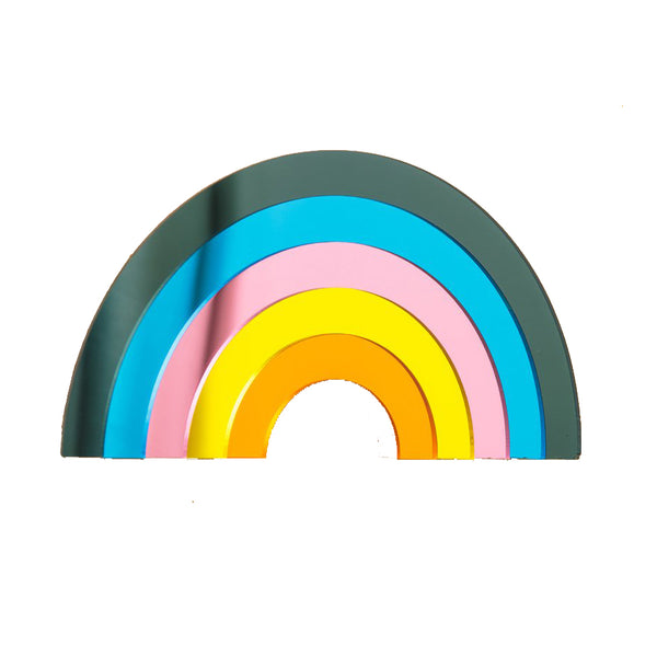 Sunset Rainbow Perspex Mirror & Wall Hanging by Bride and Wolfe