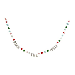 Deck The Halls Garland Card by Meri Meri - Little Citizens Boutique  - 2