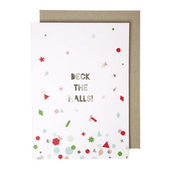 Deck The Halls Garland Card by Meri Meri - Little Citizens Boutique  - 3