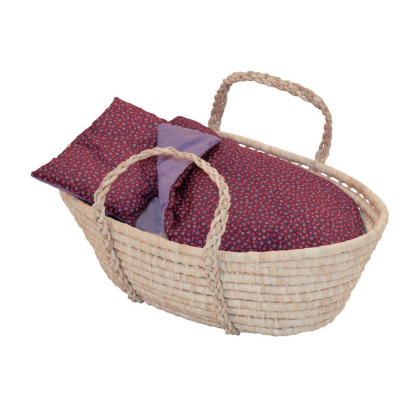 Moses Basket & Luxury Bedding