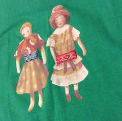 Dolly Dolls Long Sleeve Tee - Emerald Green - Little Citizens Boutique  - 2