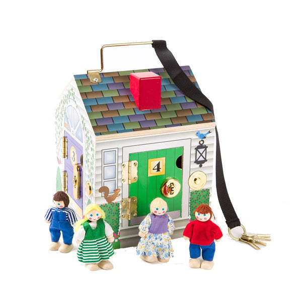 Doorbell House Toy by Melissa & Doug